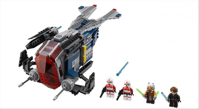 Lego 75046 Star Wars Policejní bombardér Republiky