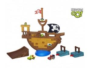 obrázek Angry Birds AB GO! - Sestřelte pirátskou loď s autíčky
