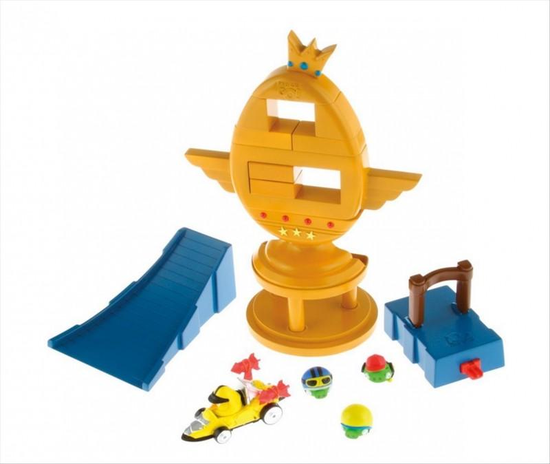 Angry Birds AB GO! - Sestřelte trofej s autíčky