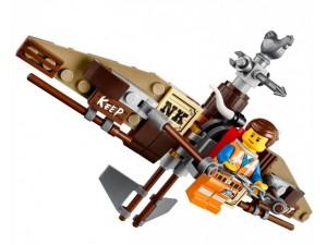 obrázek Lego 70800 Movie Únikový kluzák