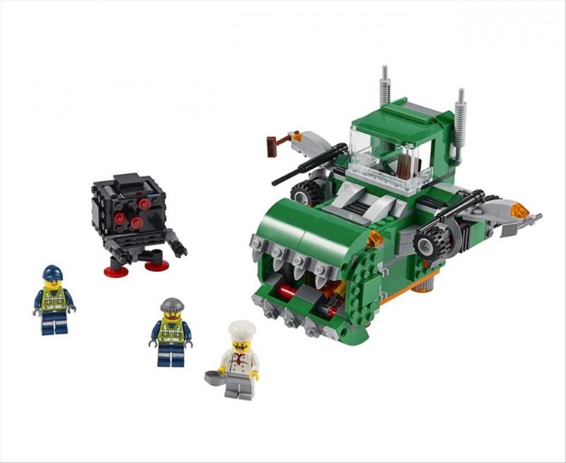 Lego 70805 Movie Drtič odpadu