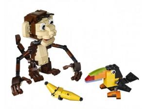 obrázek Lego 31019 Creator Zvířátka z džungle