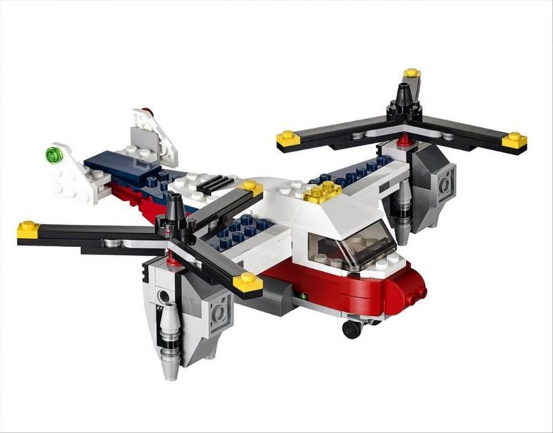 Lego 31020 Creator Dobrodružství se dvěma vrtulemi