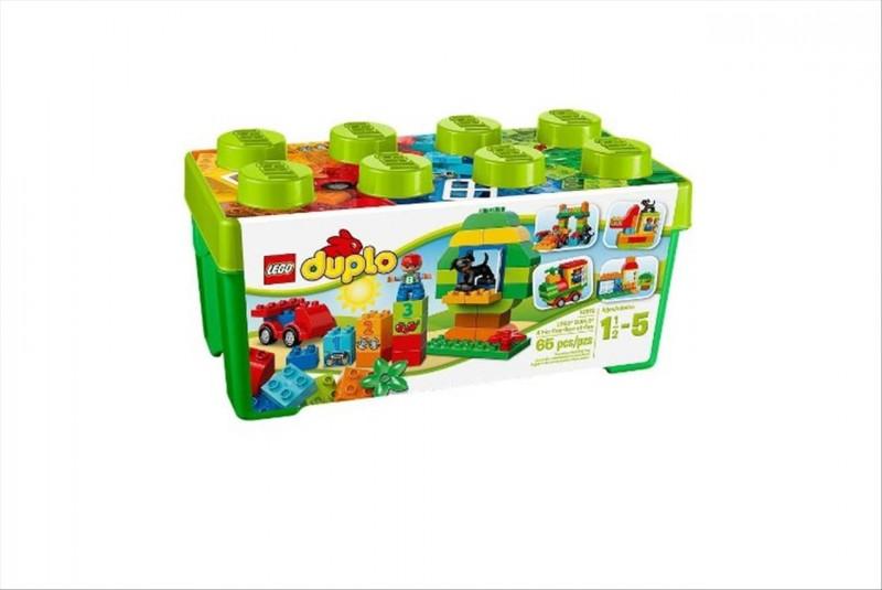 Lego 10572 Duplo Box plný zábavy