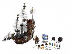 obrázek Lego 70810 Movie Kovovousova loď Mořská kráva