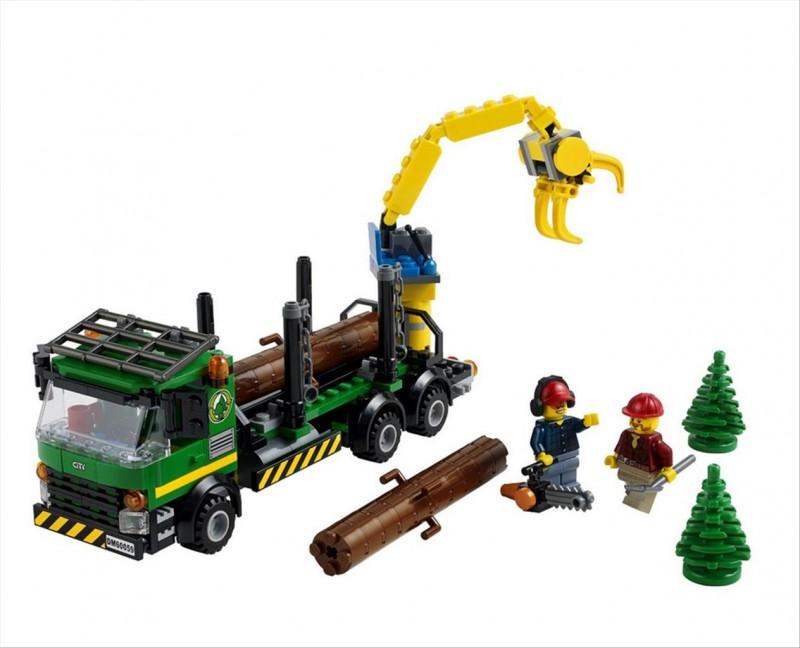 Lego 60059 City Dřevorubecké auto