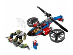 obrázek Lego 76016 Super Heroes Pavoučí záchranný vrtulník