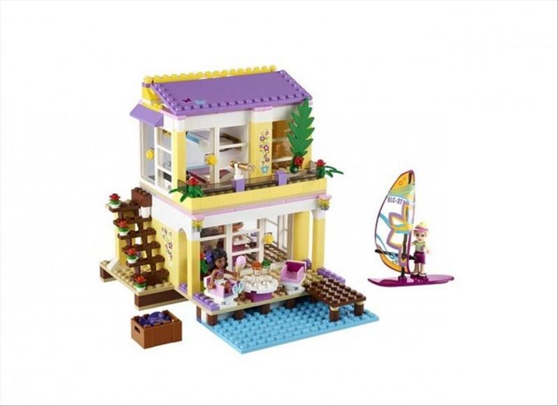 Lego 41037 Friends Plážový domek Stephanie