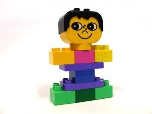 obrázek Lego Duplo holčička