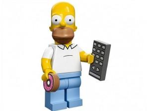 obrázek Lego 71005 Minifigurky The Simpsons Homer