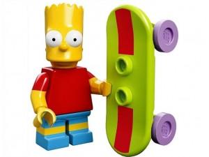 obrázek Lego 71005 Minifigurky The Simpsons Bart