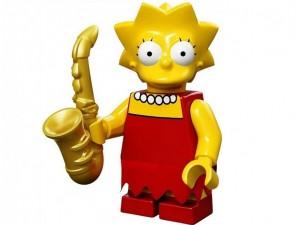 obrázek Lego 71005 Minifigurky The Simpsons Lisa