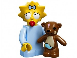 obrázek Lego 71005 Minifigurky The Simpsons Maggie