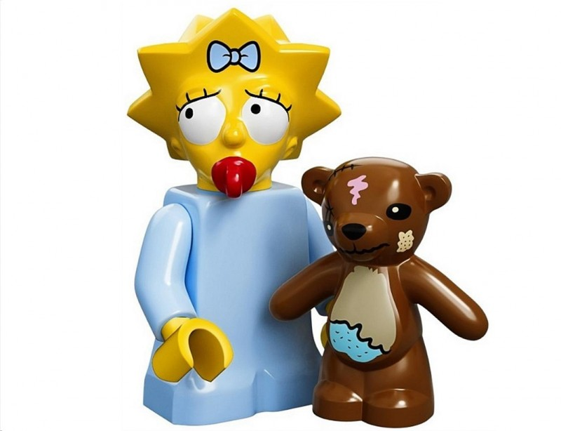 Lego 71005 Minifigurky The Simpsons Maggie