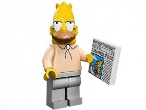 obrázek Lego 71005 Minifigurky The Simpsons Děda Simpson