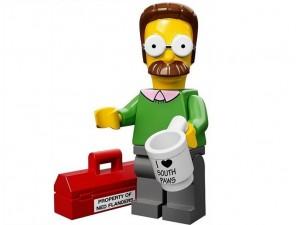 obrázek Lego 71005 Minifigurky The Simpsons Ned Flanders