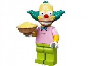 obrázek Lego 71005 Minifigurky The Simpsons Klaun Krusty