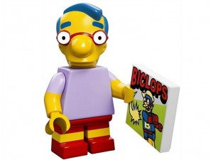 obrázek Lego 71005 Minifigurky The Simpsons Milhouse Von Houten