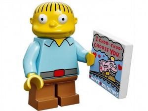 obrázek Lego 71005 Minifigurky The Simpsons Ralph Wiggum