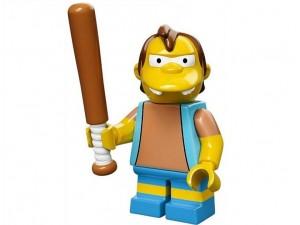 obrázek Lego 71005 Minifigurky The Simpsons Nelson Muntz