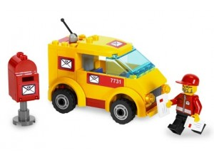 obrázek Lego 7731 Poštovní dodávka