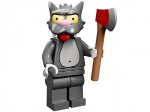 obrázek Lego 71005 Minifigurky The Simpsons Scratchy