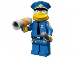 obrázek Lego 71005 Minifigurky The Simpsons Šéf Wiggum