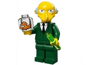 obrázek Lego 71005 Minifigurky The Simpsons Pan Burns