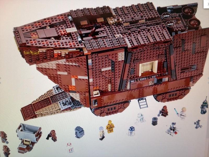 Lego 75059 Star Wars Sandcrawler