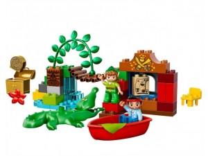 obrázek Lego 10526 Duplo Pirát Jake Peter Pan přichází