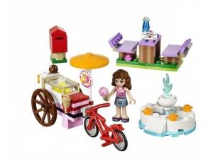 obrázek Lego 41030 Friends Olivia a zmrzlinářské kolo