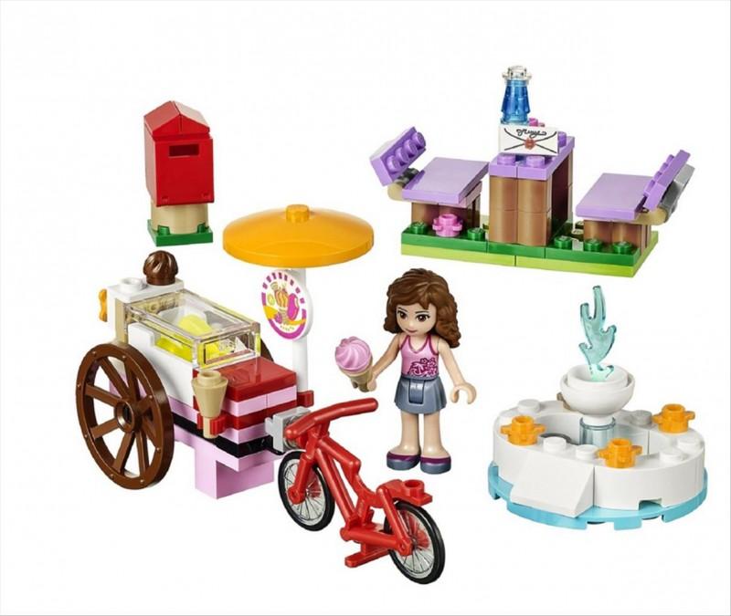 Lego 41030 Friends Olivia a zmrzlinářské kolo