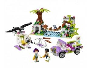 obrázek Lego 41036 Friends Záchrana na mostě v džungli