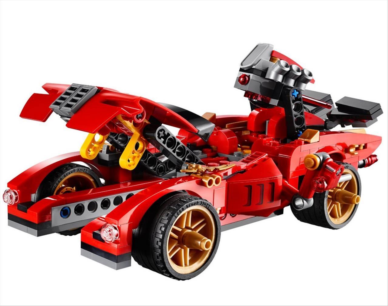 Lego 70727 ninjago kai v erven bour k x 1 - Lego ninjago voiture ...