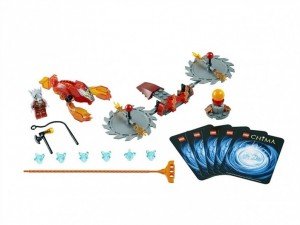 obrázek Lego 70149 Chima Žhnoucí čepele