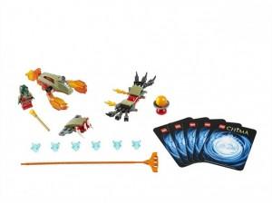 obrázek Lego 70150 Chima Ohnivé drápy