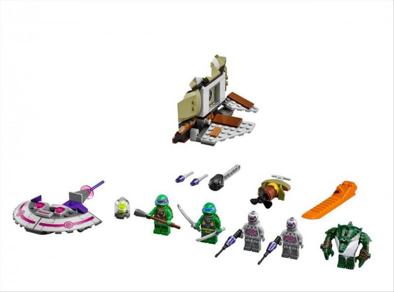 Lego 79121 Ninja Želvy Želví podmořská honička
