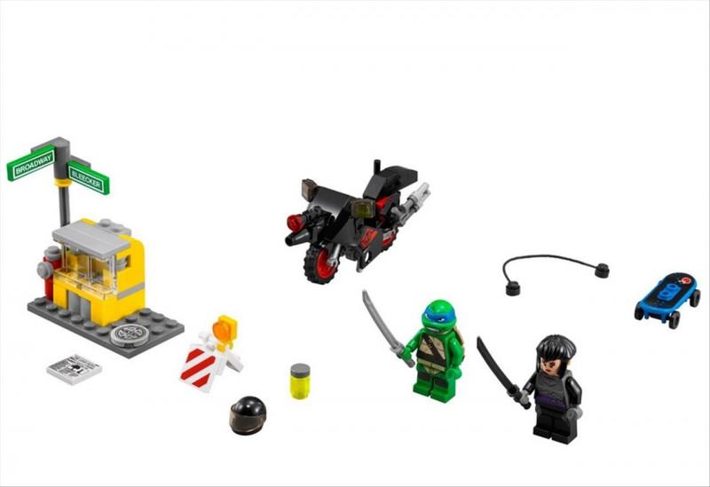 Lego 79118 Ninja Želvy Únik Karai na motorce