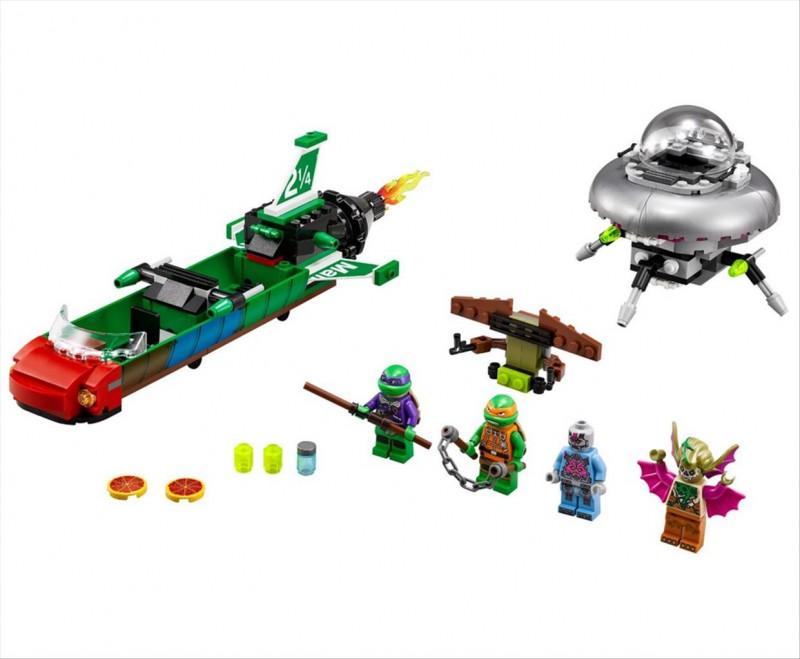 Lego 79120 Ninja Želvy Vzdušná bitva T-Rawket