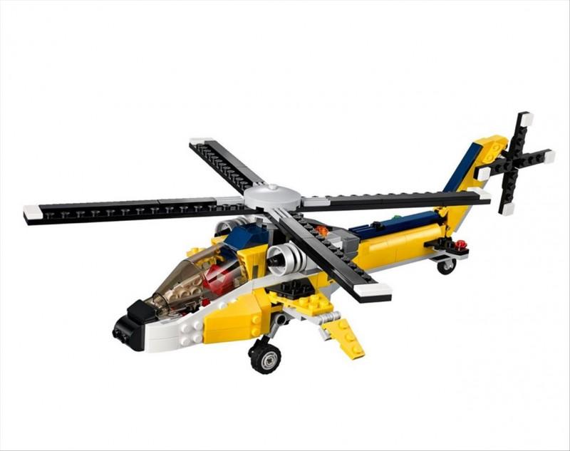 Lego 31023 Creator Žlutý vrtulník
