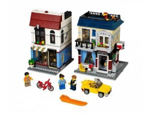 obrázek Lego 31026 Creator Cyklistický obchod a café