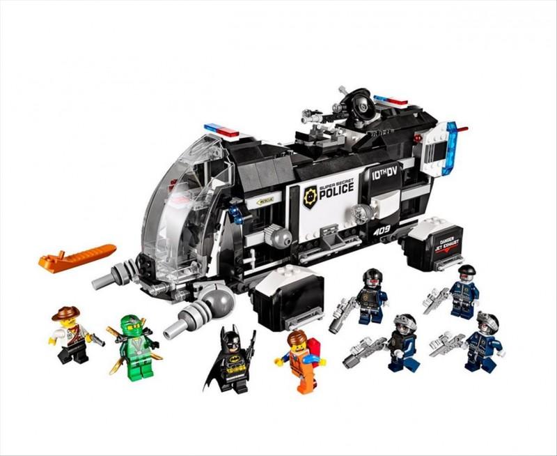 Lego 70815 Movie Kosmická loď supertajné policie