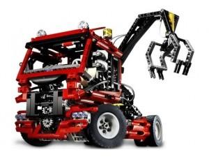 obrázek Lego 8436 Technic Truck se zvedákem