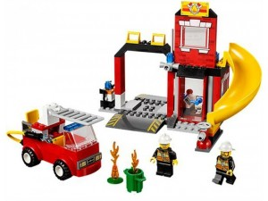 obrázek Lego 10671 Juniors Hasičská stanice