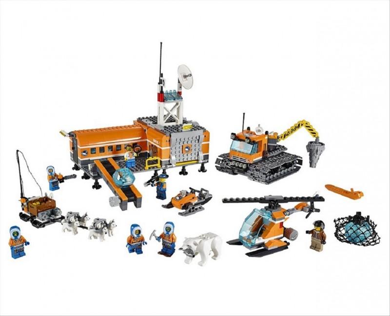 Lego 60036 City Polární základní tábor