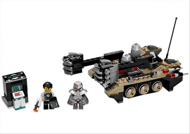 Lego 70161 Ultra Agents Tremorovo pásové vozidlo