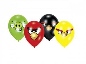 obrázek Angry Birds balónky