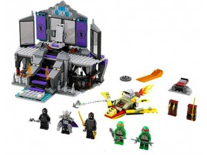 obrázek Lego 79122 Ninja Turtles Záchrana ze Shredderova doupěte