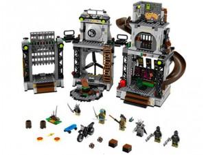 obrázek Lego 79117 Ninja Turtles Invaze do želvího doupěte