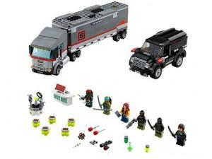 obrázek Lego 79116 Ninja Turtles Únik velkého sněžného náklaďáku